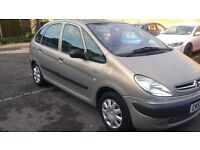 1.6 citreon picasso 2004 petrol 93000 mile mot 8/5/17 service history 12 months aa cover hpi clear