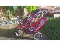 Hauck Freerider Double Buggy