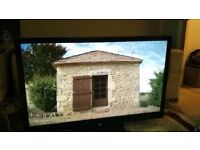 """Sharp AQUOS LC52LE700E 52"""" LED-LCD TV with stand and remote"""