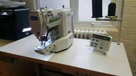 Brother ke430fs electronic bartack machine