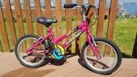 Raleigh Krush 16 inch Wheel Bike