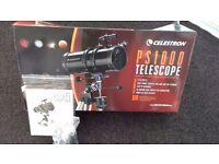 Celestron telescope new £120