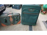 Two Green Suitcases Free