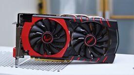 MSI AMD Radeon R9 380 GPU Gaming Graphics card