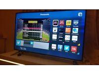 Panasonic 48-inch Smart 4K 3D ULTRA HD LED TV (48CX400B) built in Wifi, Freeview HD