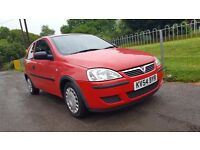 Vauxhall Corsa 2004 Superb Condition Small Engine Car