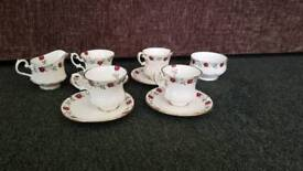 St Louis fine bone China tea set