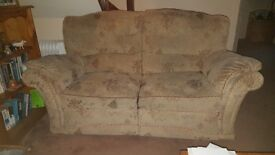 FREE 2X 2 SEATER SOFA AND 1 CHAIR