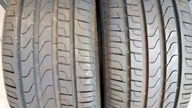 Car Tyres (Four) - Pirelli 235/55 R17 99W.