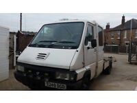 2.8 Diesel Renault Messenger recovery truck beaver tail flatbed 4.5 ton