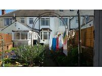 Garden arch and garden house