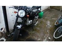sennis stealth 125cc motorbike