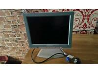 15 inch Packard Bell monitor built in usb 4 port hub