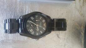 Armani ceramic classic watch