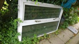 old pvc window for a shed or diy