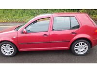 VW GOLF 1.6 16V 2002 SPARE OR REPAIR