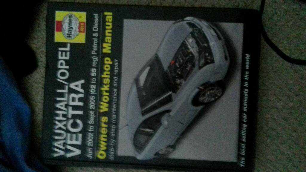 Vauxhall vectra work shop manual Paignton
