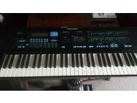 Technics AX5 electronic keyboard - with lead. No stand. Good working condition.