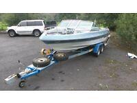Speed boat American 21ft Barreta Inboard 3.7 Mercruiser