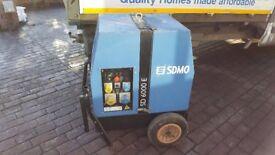 SDMO SD 6000 E Generator - Good condition - Only 1130 Hrs