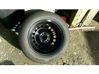 Brand new vauxhall zafira 15 inch wheel and tyre new 195 65 15
