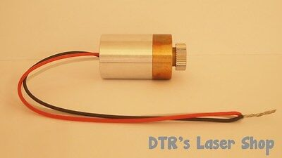 20mm 1w Ndg7475 520nm Laser Diode In 20mm Copper Module Wdriver Glass Lens
