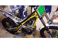 2013 Sherco 290cc Trials Bike