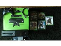 Xbox one 500gb boxed with 5 games.