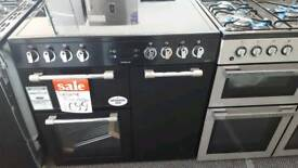 New graded Leisure 90cm electric range cooker with 12 months guarantee