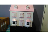 large kids dolls house (wooden)