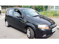 2005 Chevrolet Kalos 1.4 SX 5dr Automatic - HPI Clear Long MOT Starts and drives superbly.