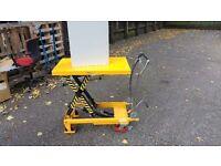 500kg trolley with hydraulic lift