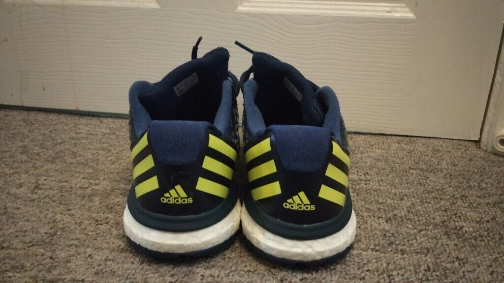 Blue Adidas Energy Volley Boost 2.0 trainers, minimal use   in Stevenage, Hertfordshire   Gumtree