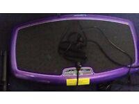 Purple vibration plate