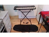 Casio CT-630 Keyboard GOOD CONDITION PLUS STAND AND CASE