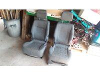 Toyota Previa '55 plate Seats (rear)