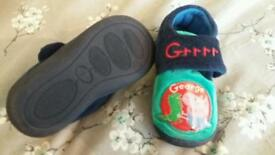 Boys size 7 slippers