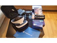Playstation VR Bundle - Headset, Camera, 2x Motion Controllers, Games, Original boxes & wires