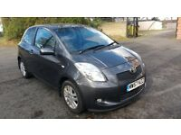 2007 Toyota Yaris TR 1.3 Manual Petrol Grey Immaculate condition