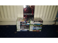 20 Xbox 360 Games (Lego, G Force, Skate 3, Sniper Elite, Plants Vs Zombies, Street Fighter)