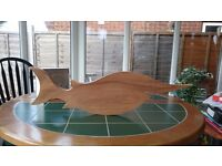 Wooden Fish Decoration
