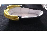 Mamas and Papas moses basket attachment for pram