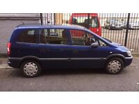 VAUXHALL ZAFIRA LIFE DTI 7 SEATER with 12months MOT !!!