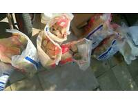 Free rubble. 10 bags