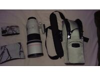 Canon Telephoto Lens- Canon EF - 300mm - F/4.0 USM Used- Excellent condition