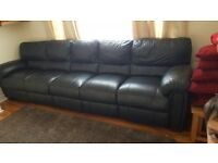 Lovely Leather Luxury Sofa RRP 1600