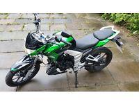 LEXMOTO VENOM 125 SK 125-22 (BLACK+GREEN)