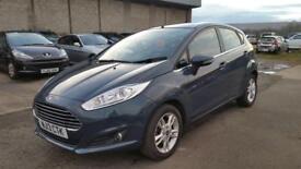 2013 Ford Fiesta zetec 1.2 petrol 5 door hatchback low mileage