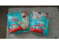 Brand new PAMPERS Size 6 pull up pants