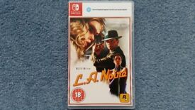 Nintendo Switch L.A. Noire, Brand new, Case included, Rockstar Games, Contact me soon as, Cheap £25